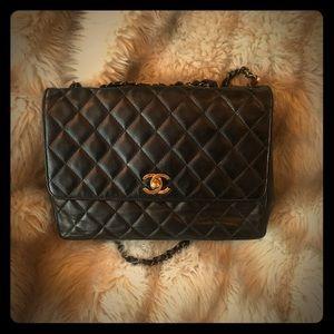 AUTHENTIC Chanel vintage flap bag